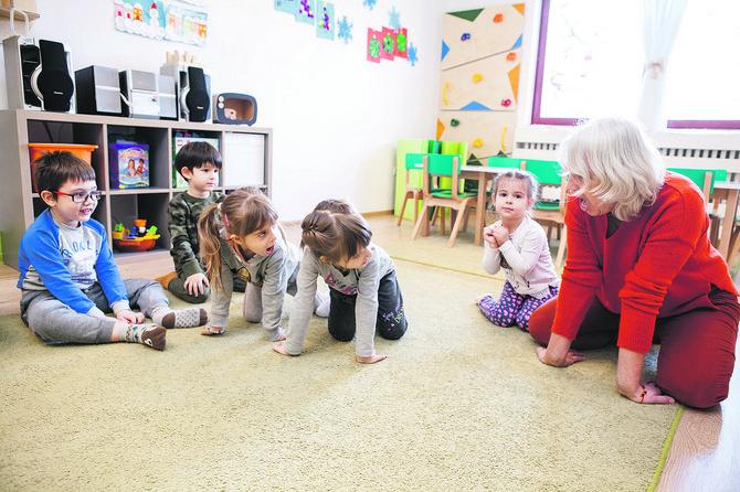 """U """"Azbukici"""" deca imaju obilje programa - sportić, folklor, engleski, vežbe sa logopedom"""