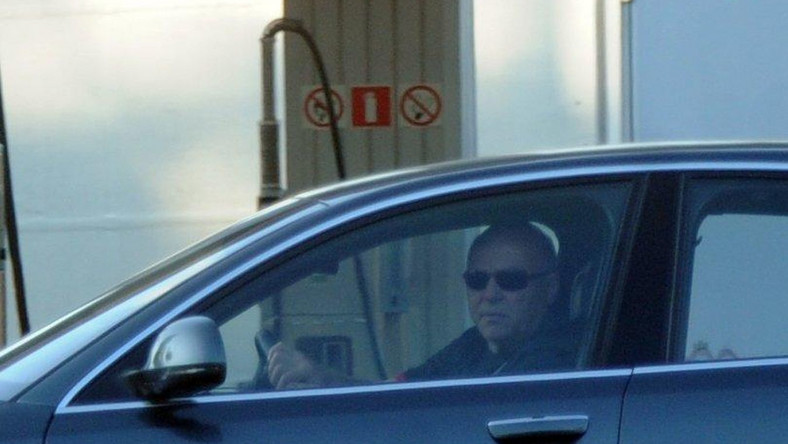 Grzegorz Lato za kierownicą luksusowej limuzyny