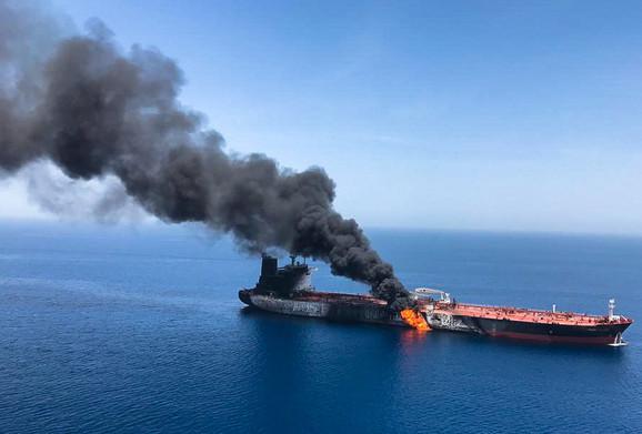 Fortografija od prošle nedelje: Tanker u plamenu