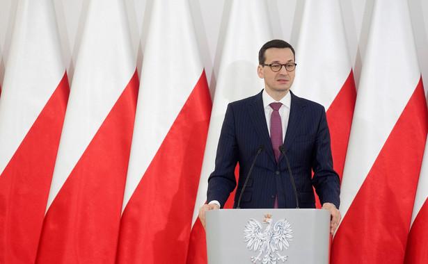 """""""Wszystkie państwa muszą ze sobą współpracować w harmonii, jeśli rzeczywiście chcemy być lepsi, w szczególności w naszym ogólnym systemie obrony, ale też w systemie ochrony granic"""" - mówił Morawiecki."""