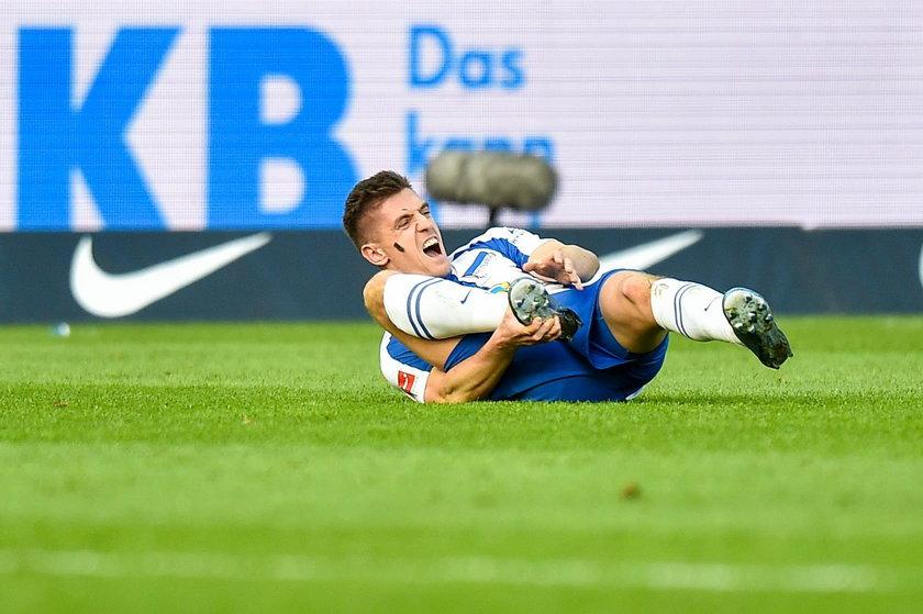 Hertha Berlin przegrała u siebie z Mainz