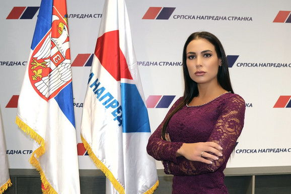 Bojana Radaković, omladina SNS