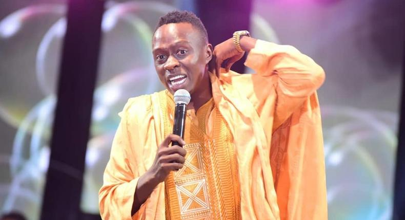 Comedian Obinna lectured by angry fans after posting this photo of pregnant Tanzanian actress