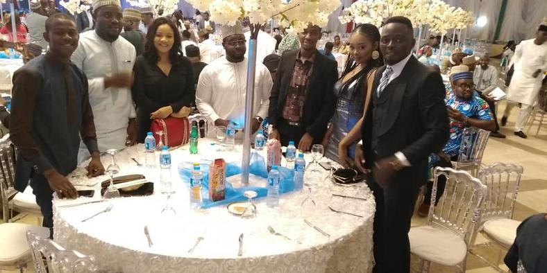 "APC supporters at the ""Thank You Dinner"" hosted by the Vice President, Prof Yemi Osinbajo on Thursday, March 14, 2019 [Twitter/@APCUKingdom]"