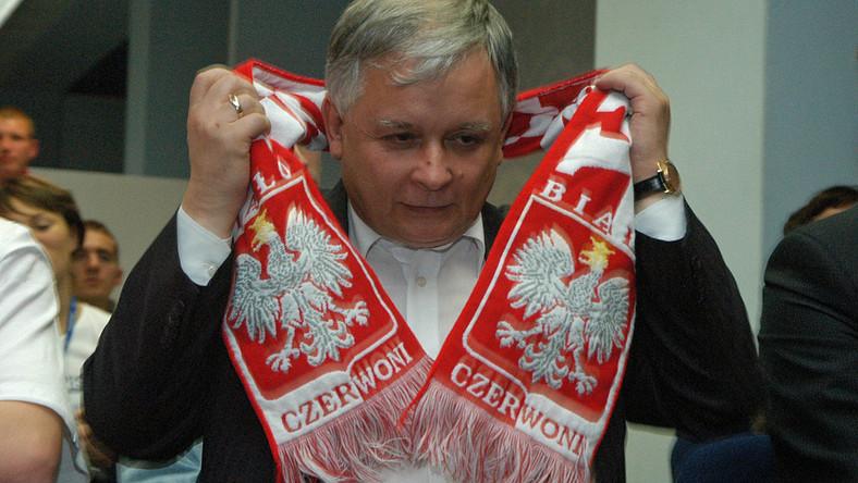 Mecz Polski z Austrią obejrzą prezydent Lech Kaczyński i wicepremier Grzegorz Schetyna