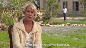 """""""Podróż na sto stóp"""": Helen Mirren o filmie"""