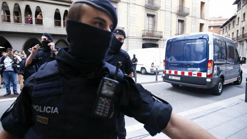Katalońskie służby