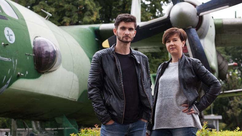 Kamil Turecki i Edyta Żemła