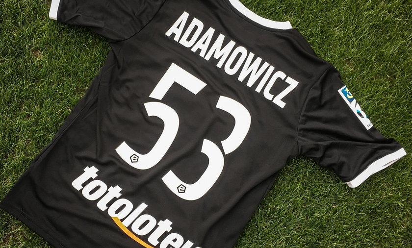 Adamowicz 53 - specjalna koszulka dla upamiętnienia zasłużonego dla Lechii prezydenta