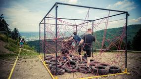 Piekielnie ciężki Runmageddon Classic Beskidy szalał w Myślenicach