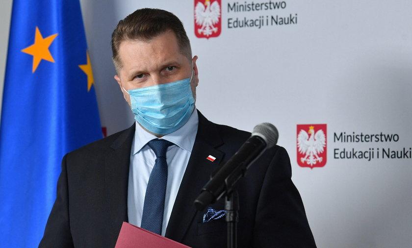 Szef MEiN Przemysław Czarnek