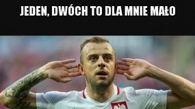 """""""Lewy"""" i """"Grosik"""" bohaterami memów po meczu Rumunia - Polska"""