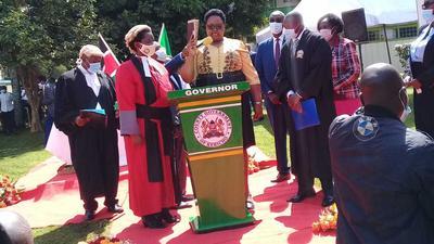 Lilian Chepngetich Ngok becomes Kericho Deputy Governor