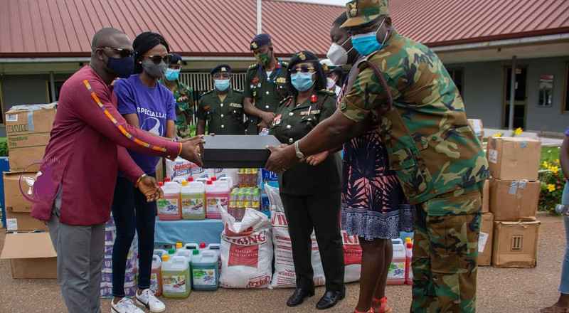 Speciallady & 3FM support Women's Health with donations to 37 Military Hospital