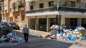 Grecja: trwa strajk służb komunalnych; w miastach sterty śmieci