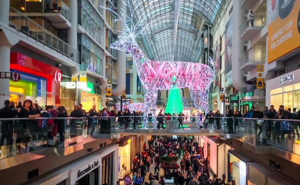 Centrum handlowe. Zdjęcie ilustracyjne