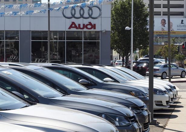 Salon sprzedaży Volkswagena i Opla w USA