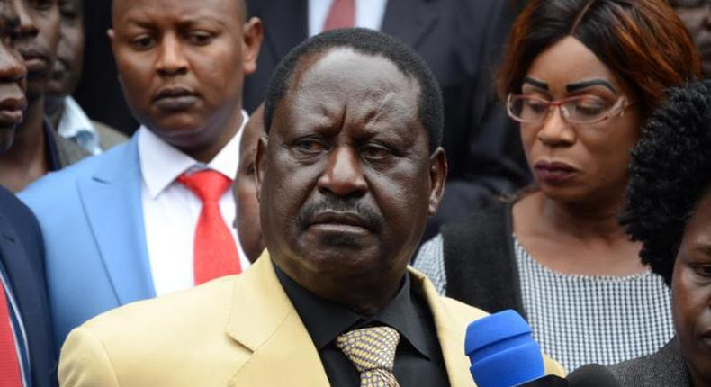 Former Prime Minister Raila Odinga gives Nation 24 hours to retract Race is on: Raila to face Ruto in 2022 article