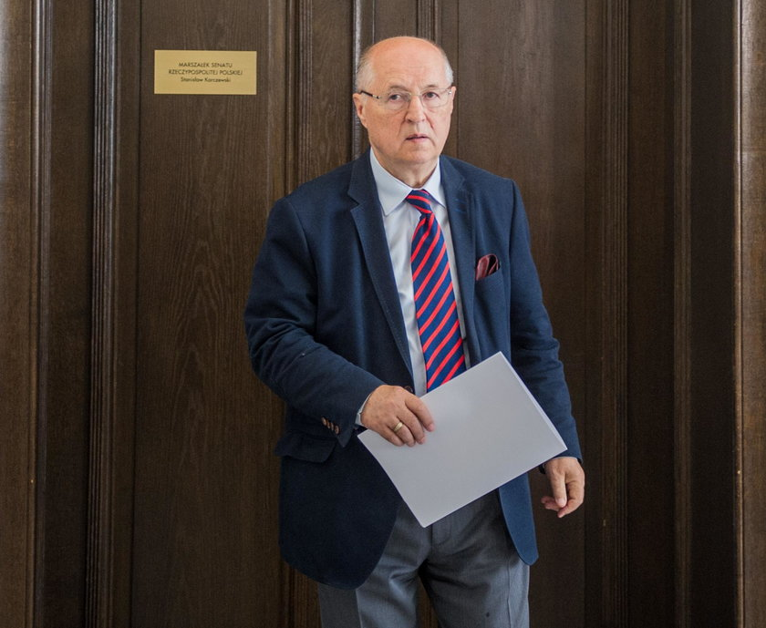 Michał Seweryński wicemarszałek Senatu z PiS
