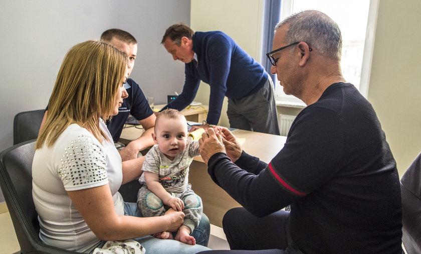 Dror Paley, ortopeda z Florydy będzie leczył dzieci w Skierniewicach