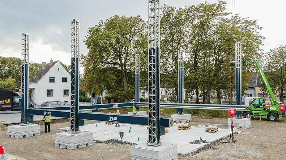 Firma PERI używa drukarek 3D do betonu BOD2 od COBOD