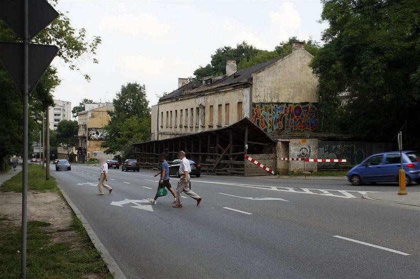 Niebezpieczne miejsce w Warszawie
