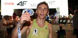 Biegowy kozak! W tym roku zdobył medale na bieżni, w przełajach i maratonie!