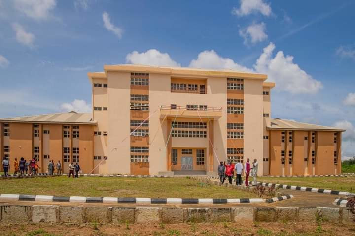 The new administrative building commissioned by Gov Rotimi Akeredolu on Saturday, October 3, 2020 (Ondo State Govt)