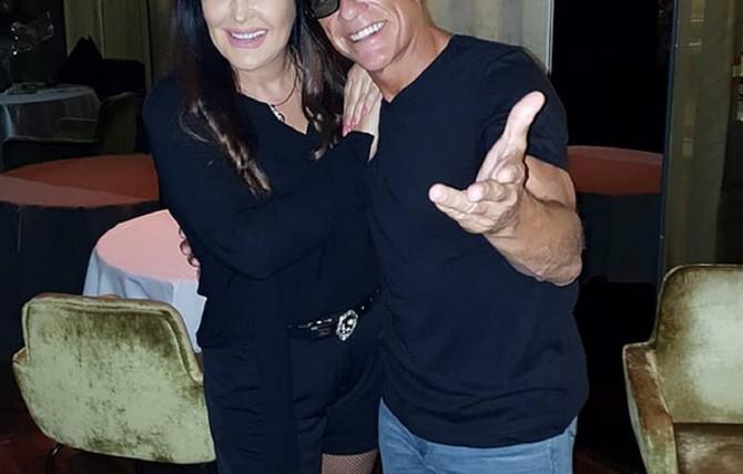 Dragana Mirković i Žan Klod van Dam
