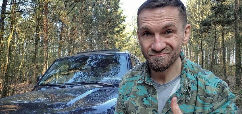 Przemysław Kossakowski dla Faktu: Schowałem się w lesie i nie chcę wychodzić