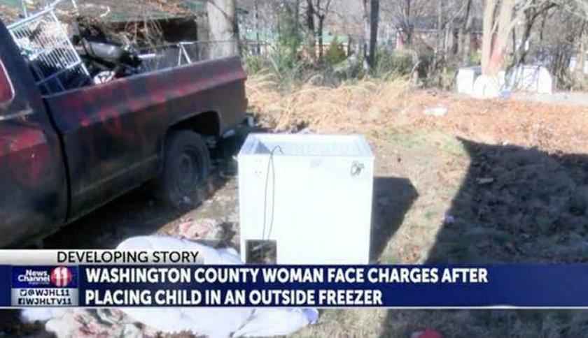 USA: Nastolatka włożyła niemowlę do zamrażarki. Usłyszała zarzuty