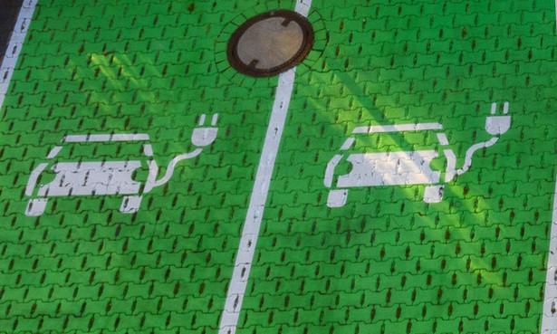 Miejsce do ładowania aut elektrycznych