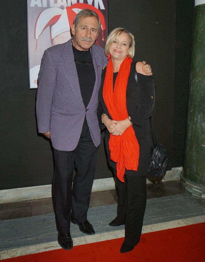 Andrzej Strzelecki z żoną