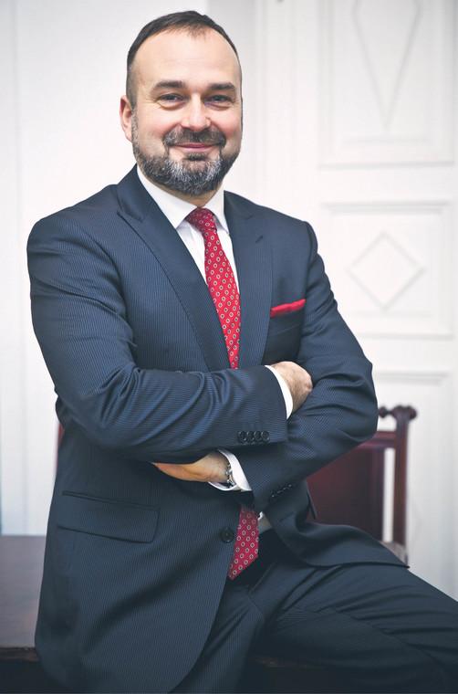 Maciej Gutowski, profesor nauk prawnych, adwokat, dziekan Okręgowej Rady Adwokackiej w Poznaniu  fot. Wojciech Górski