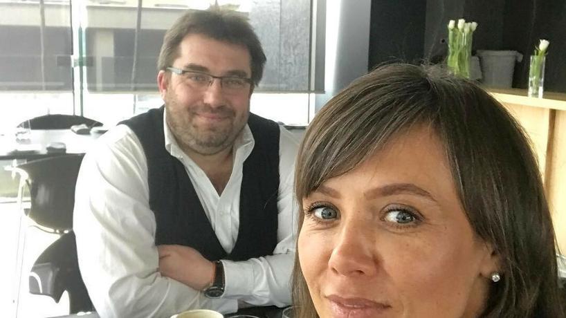 Kinga Rusin i Bartosz Węglarczyk