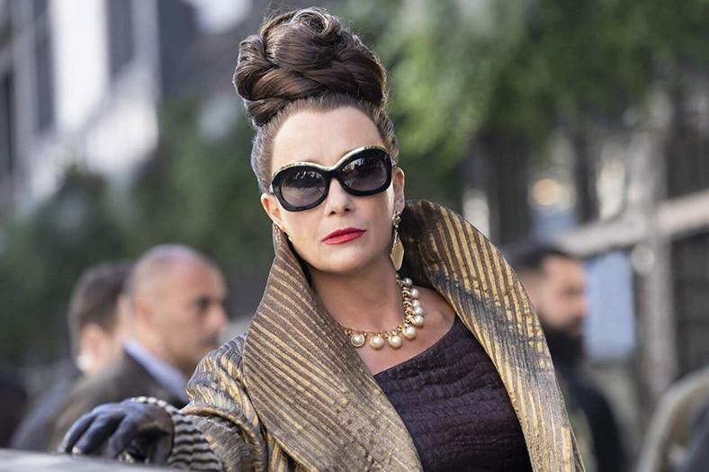 """Emma Thompson as the baroness in the movie """"Cruella"""""""