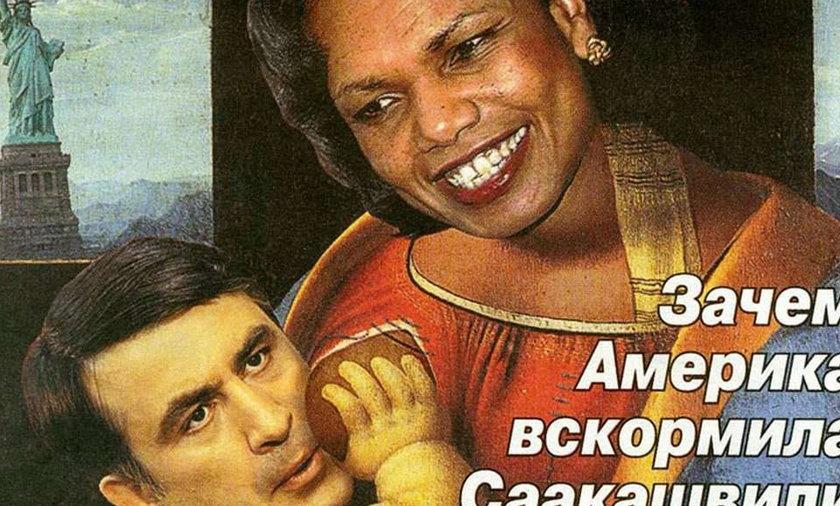 Rosjanie obrażają Rice