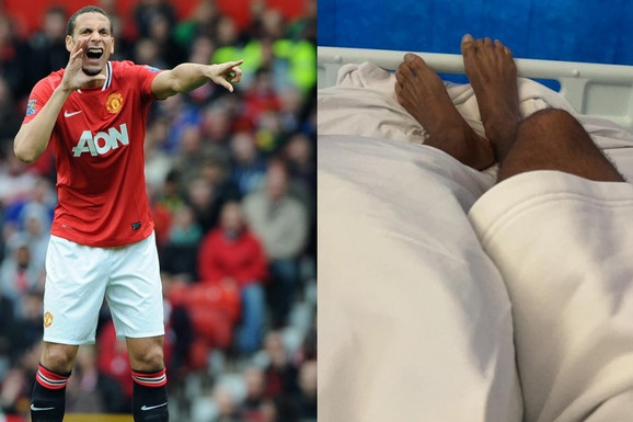 Ferdinand se javio iz bolničkog kreveta, POZLILO MU NAKON UTAKMICE: Ovih 60 minuta me je poslalo u šok sobu!