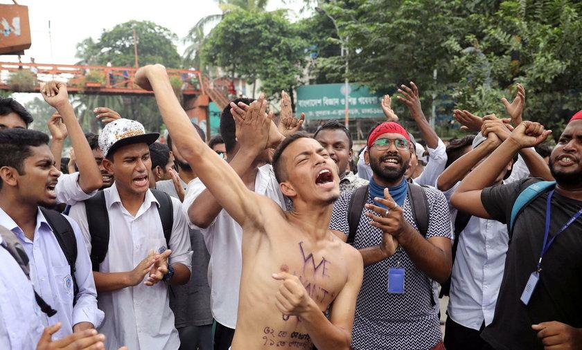 Protesty w Bangladeszu