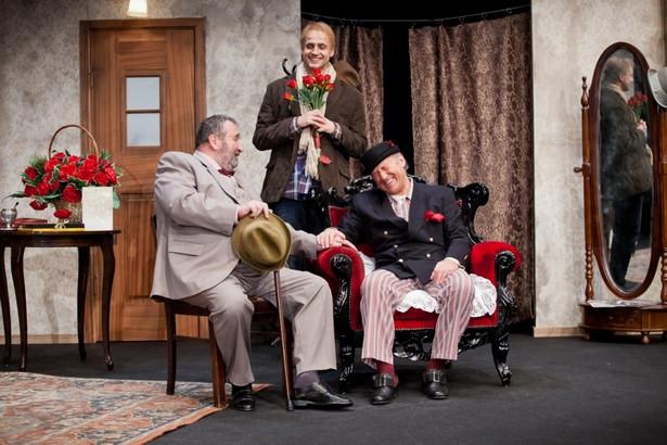 """Neil Simon """"Słoneczni chłopcy"""" - reż. Olga Lipińska, Fot. Jarosław Niemczak/Teatr 6.piętro"""