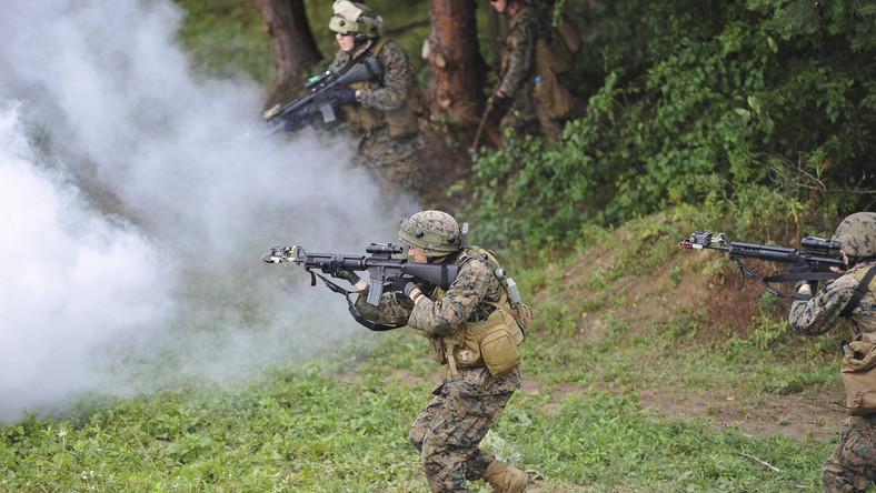 W treningu militarnym na terenie Ukrainy biorą udział żołnierze z 18 państw, m.in z USA, Wielkiej Brytanii i Litwy.