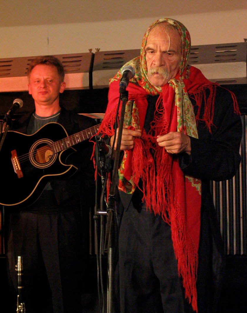Bohdan Smoleń na scenie