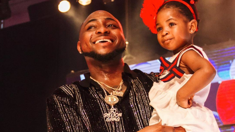 Davido is super excited as his first child and daughter, Imade turns four today