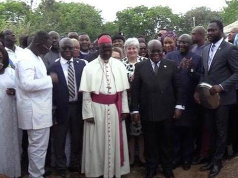Ghana imports religious stone from Israel to sanctify National Cathedral