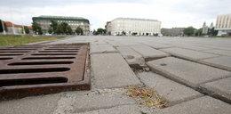 Plac Piłsudskiego wypięknieje