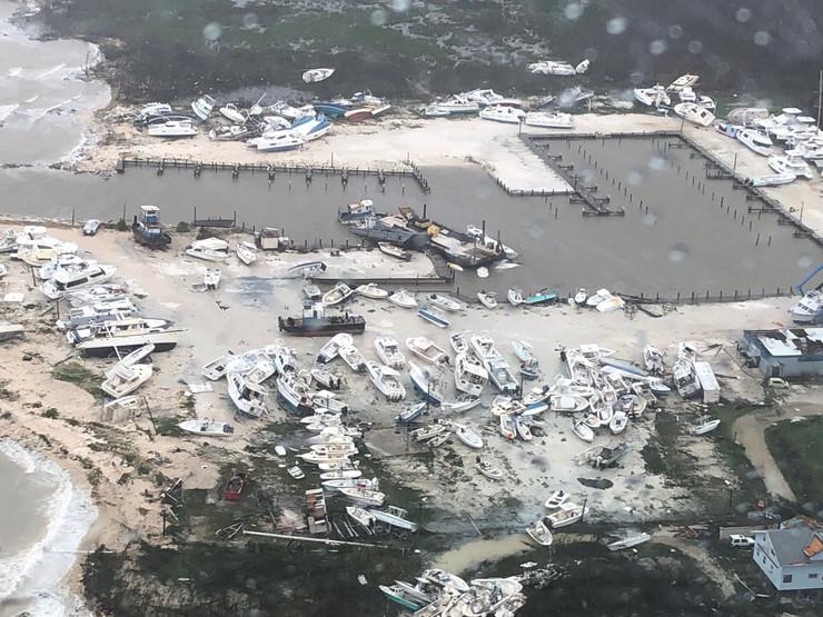 bahami, uragan dorijan