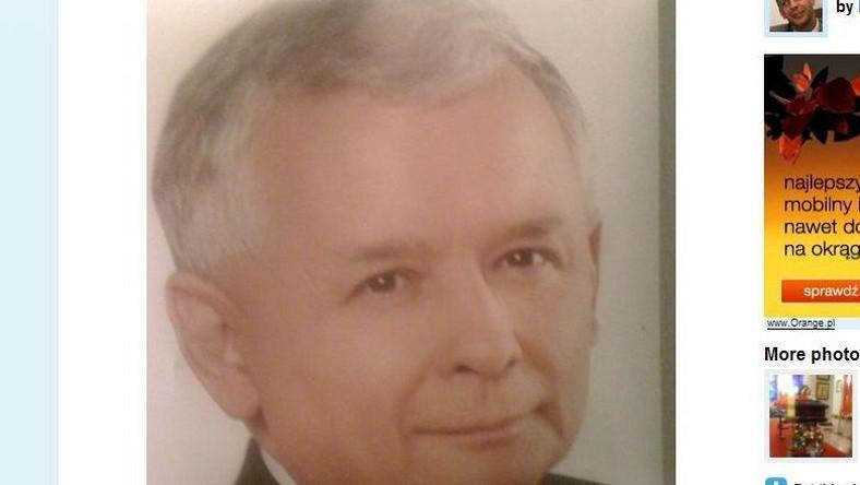 Oto Kaczyński z wyborczego plakatu