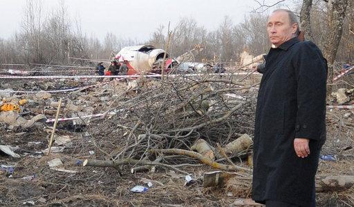 Tak Putin pisał o Smoleńsku dwa dni po katastrofie