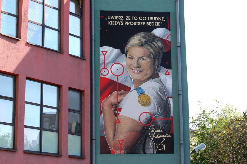 Skolimowska na swój mural