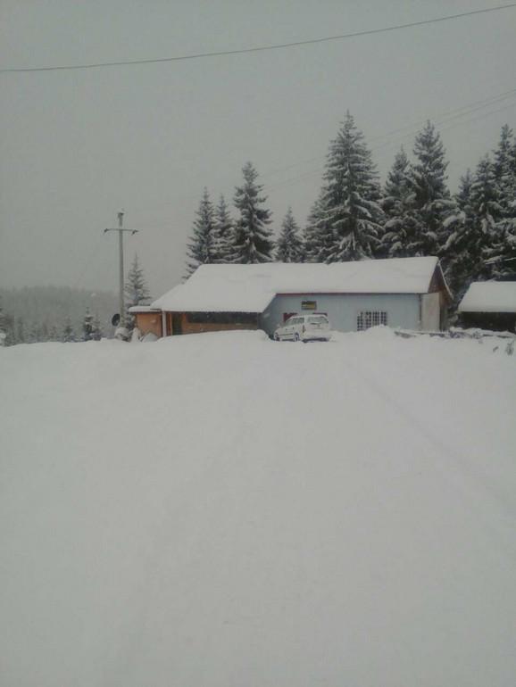 Selo Bare na Pessterskoj visoravni